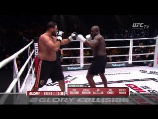 Glory 36 Collision Jamal Ben Saddik vs Ismael Londt - 10 декабря 2016