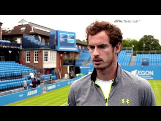 Andy Murray Learning From Bjorkman - ATP World Tour Uncovered