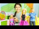 Barbie kuaför oyunu. Barbie'nin rüzgarda bozulan saçlarını yapıyoruz. Kızoyunları