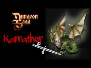Dungeon Saga: Let's paint!!! Le tyran d'Halpi (Karrathor)