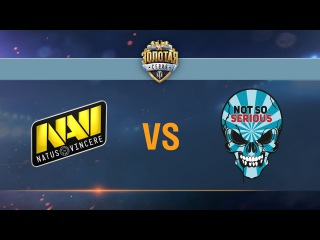Natus Vincere G2A vs Not So Serious - day 2 week 8 Season II Gold Series WGL RU 2016/17
