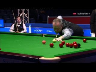 John Higgins 101 v Scott Donaldson Scottish Open 2016