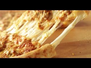 Пицца с сырным бортом от Папа Джонс
