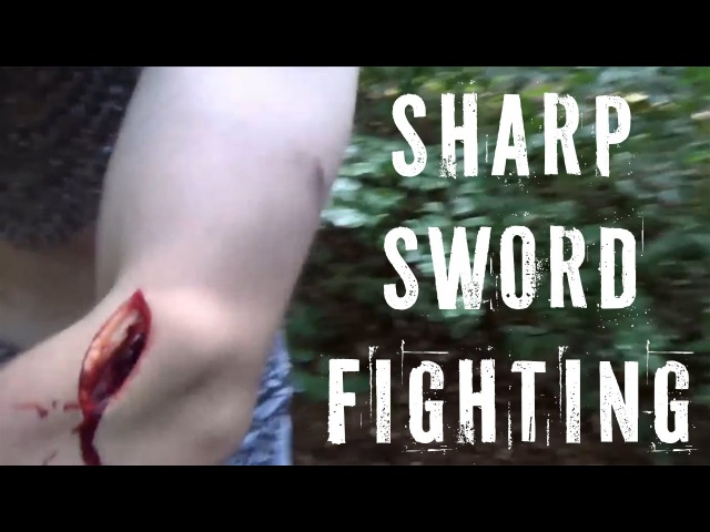 Real German Swordfights THIS IS INSANE The HEMA group that fights with sharp swords