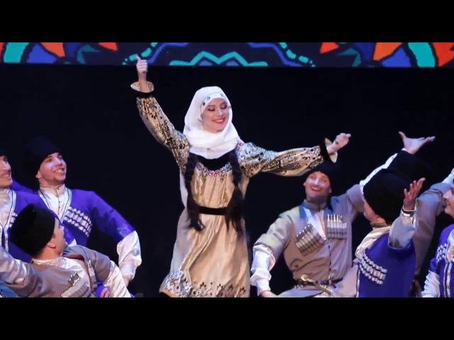 Ансамбль Адат Даргинский танец