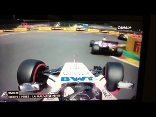 Spa 2017 Ocon Vs Perez Force India