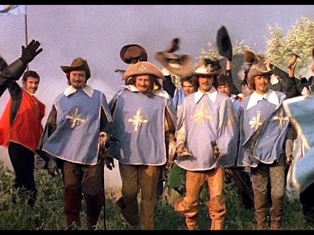Д'Артаньян и три мушкетера 3 серия 1978