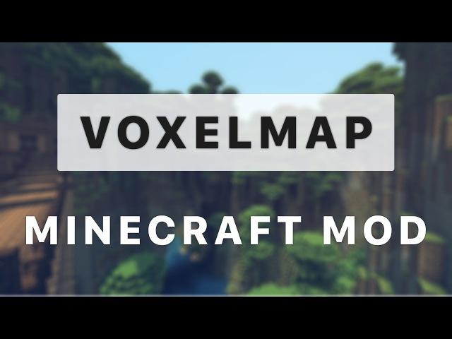 Обзор на мод майнкрафт VoxelMap миникарта