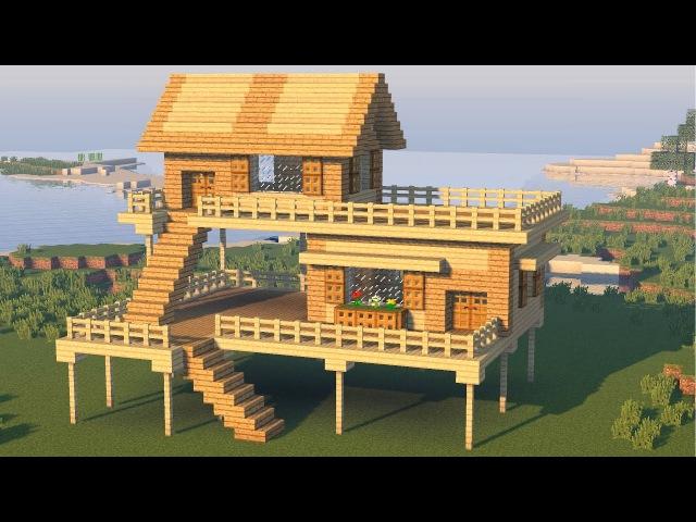 постройка домов в майнкрафте #4