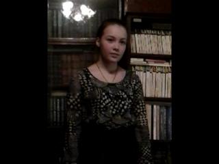 """Пономарева Лиана. Стихотворение Ольги Фокиной """"Черёмуха"""". #ВидеоМИГ Беня Играев"""