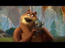 Мишка косолапый по лесу идет Детская песенка с субтитрами и Мультик