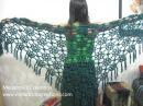 Lacy Flower Shawl Crochet Tutorial