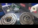 Замена подшипника шкива компрессора Nissan Teana. Восстановление муфты компрессора кондиционера.