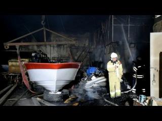 Рятувальники ліквідували пожежу на території одного з підпримств м. Миколава
