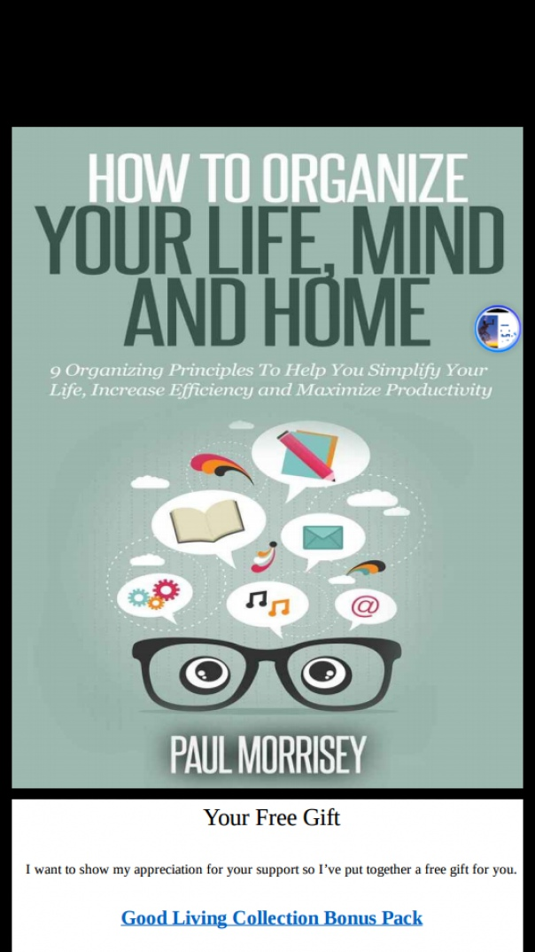 how to organise your life mind and