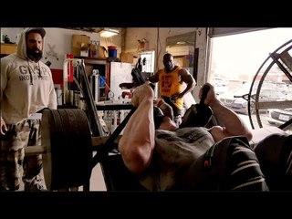 Guy Cisternino & Branch Warren Train Legs