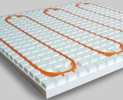 Монтаж водяного теплого пола из сшитого полиэтилена, изображение №7