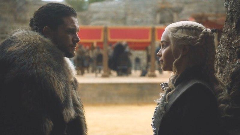 Cersei accede a la Batalla del Norte - Jon y Daenerys conversan   Juego de Tronos 7x07 Español HD