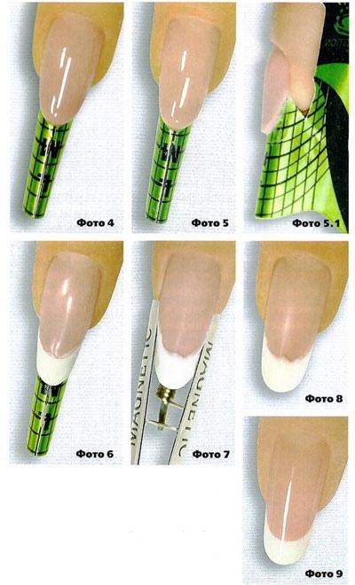 Моделирование овальной формы ногтей, изображение №9