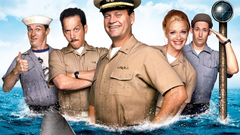 Убрать перископ / Down Periscope (1996) BDRip 720p [vk.com/Feokino]