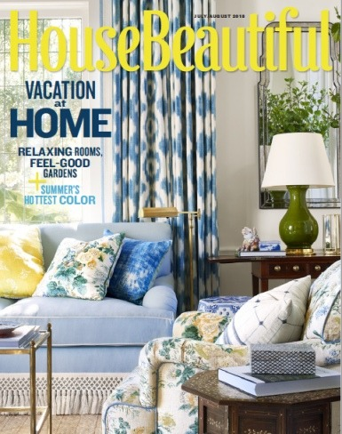 House Beautiful  July August 2018