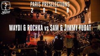 Paris preselections - Hip hop semi final : Waydi & Rochka vs Sam & Jimmy Yudat |