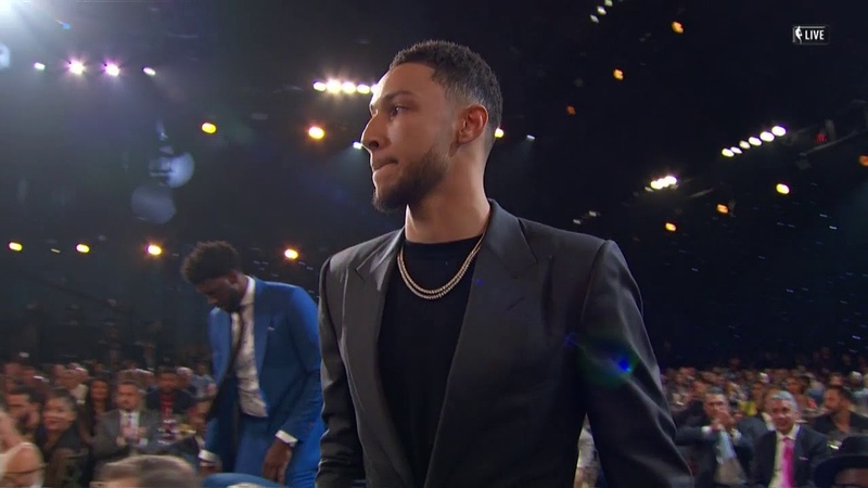 Ben Simmons Wins 17-18 NBA Rookie Of The Year