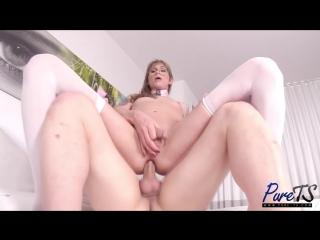 Jessi gunn - mature sex doll gets fucked  loves it [tattooed shemale]