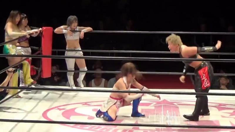 4. Hiromi Mimura, Jungle Kyona, Konami Natsuko Tora vs. Hana Kimura, Kagetsu, Kris Wolf Natsu Sumire