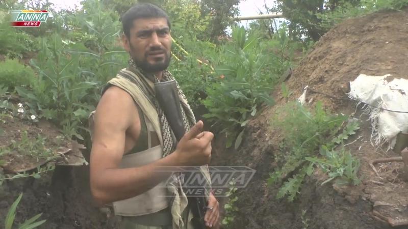 н.п. Жабуньки (ДНР).16 июня,2017.Абдулла об окопной войне на Донбассе.