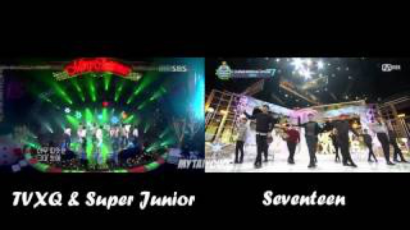 DBSJ VS Seventeen - Show Me Your Love