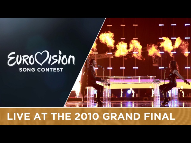 Paula Seling Ovi - Playing With Fire (Romania) Live 2010 Eurovision Song Contest
