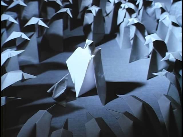АДАЖИО Бумажные фигурки Мультфильм Гарри Бардина 2000г