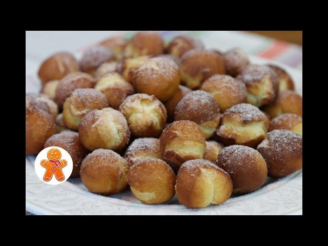 Пончики на Сгущенке Очень Быстрый и Простой Рецепт из Детства