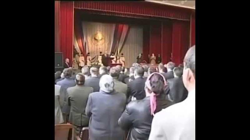 Ингушетия Мурат Зязиков выступает перед народом