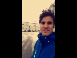 @DarrenCriss on @CW_TheFlash set in Vancouver via his snapchat - February 3, 2017