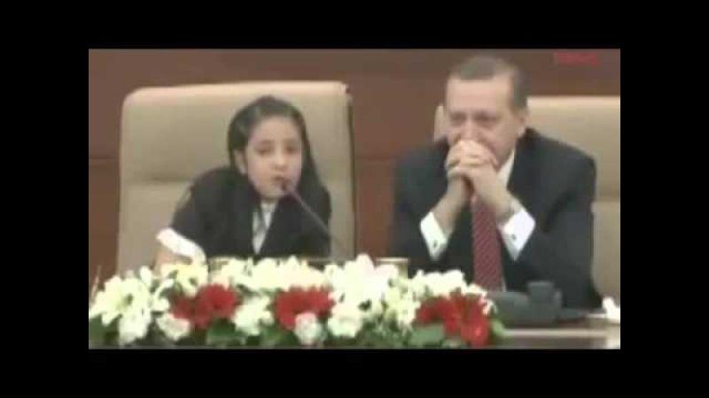 Küçük Kız Başbakanı Rezil Etti YASAKLANAN VİDEO