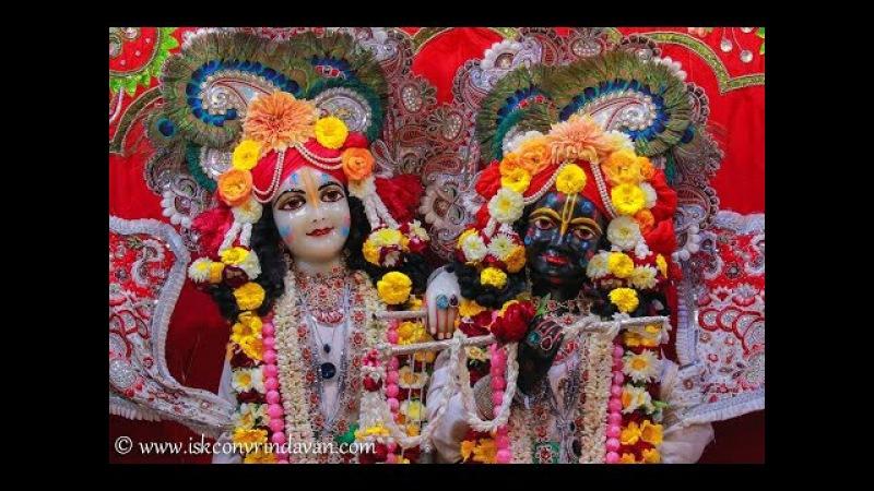 ISKCON Vrindavan Deity Darshan 08 March 2017