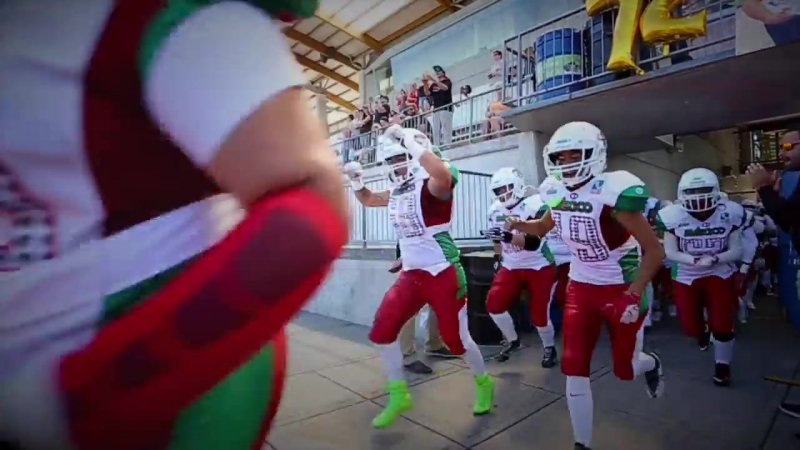Mexico vs USA mundial femenil IFAF WWC 2017 _ Langley CAN