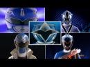 Forever Blue Ranger Morphs | Mighty Morphin Power Rangers - Power Rangers Super Ninja Steel