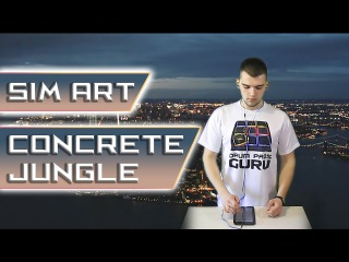 SIM ART  - Concrete Jungle (Hip-Hop Drum Pads Guru)