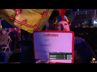 Joe Cullen vs Peter Wright (PDC World Series of Darts Finals 2016 / Quarter Final)