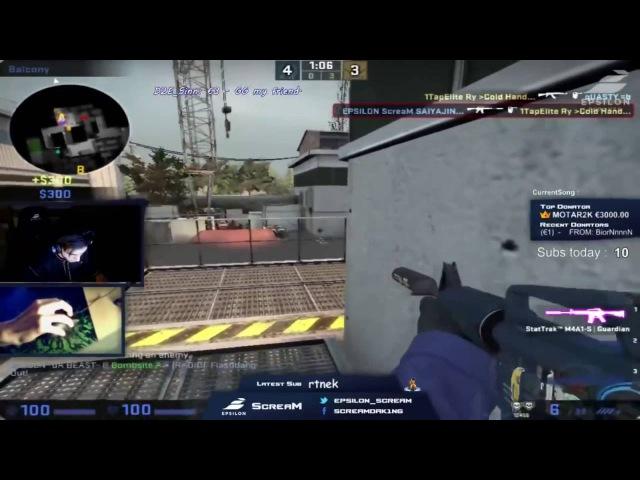 CS GO Adil 'ScreaM' Benrlitom More Twitch Highlights Full HD