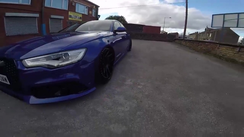XUK A6 to Rs6 front bumper conversion