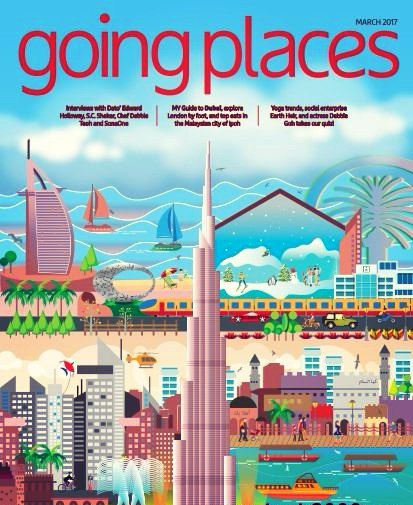 Going Places - March 2017