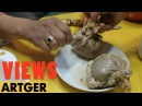 Mongolian Sheep Stomach Dumpling - Traditional Nomadic Cuisine | VIEWS