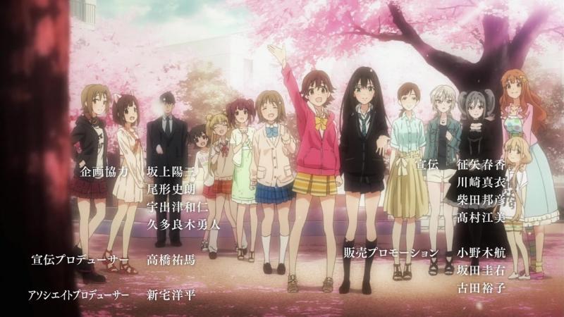 Идолмастер Девушки Золушки 2 Эндинг 7 ED EP 11 Idolmaster Cinderella Girls Second Series Ending 7