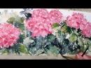 Hedwig's Art hydrangeas watercolor