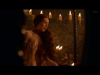 Кэрис Ван Хаутен (Carice van Houten) голая в сериале Игра престолов (2013)
