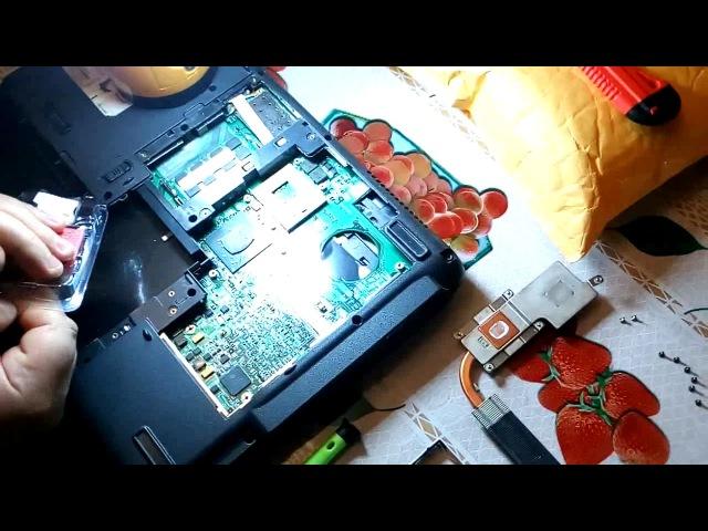 Ноутбук Aser Extensa 5220 меняем процессор